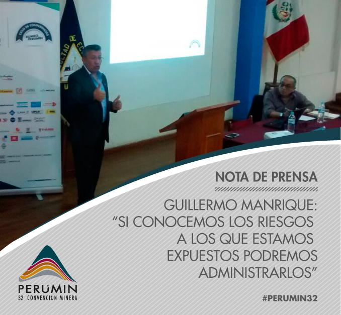 Thumbnail for ¡Guillermo Manrique dictó conferencia magistral en Rumbo a PERUMIN!