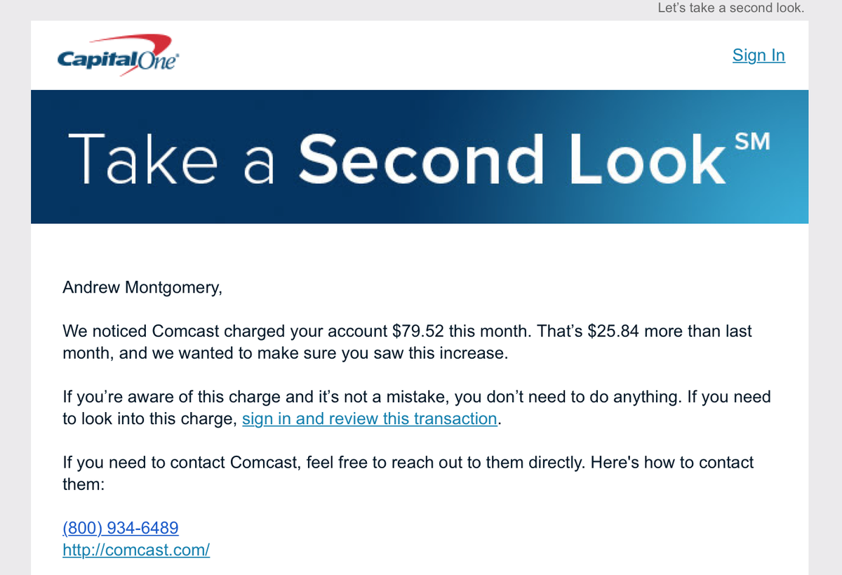 Capital One on Twitter: