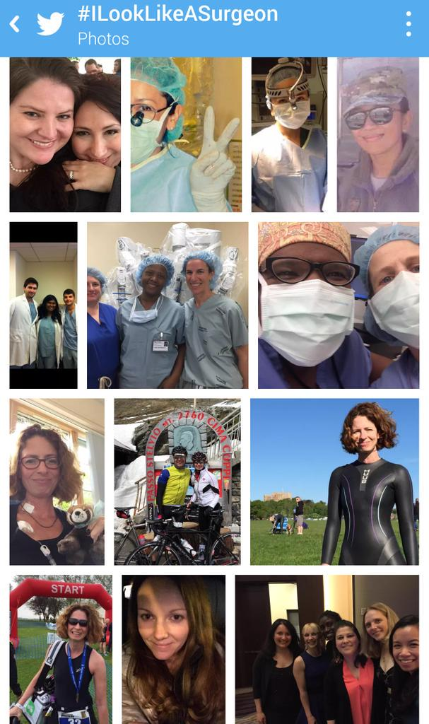 Check out #ILookLikeASurgeon photos of #women in surgery. (Some are also #ILookLikeAnEngineer!) cc @DisruptiveWomen http://t.co/39FAr4TeDm