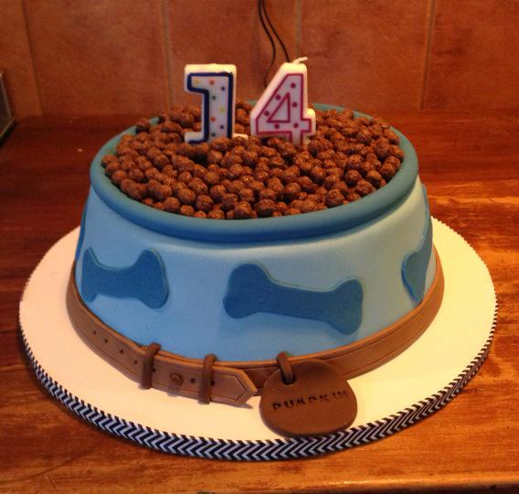 14th Birthday Cake For My Dog Pumpkin By Cakes Esme Whywellingtonpictwitter EtgmhVbHal