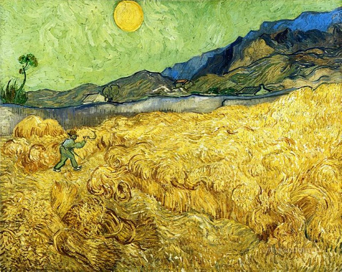 """pao sanvi on Twitter: """"@saatchi_gallery Vincent van Gogh painted  agricultural scenes, farmers at work, fields of wheat, trees and nature  http://t.co/OL5OWBaqAr"""""""