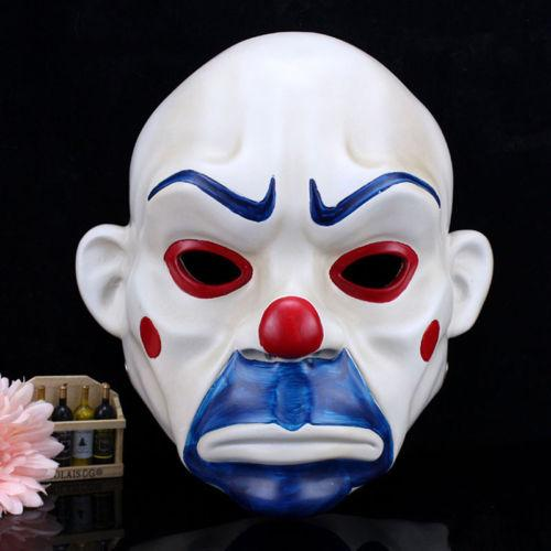 "zeppy.io jokes on Twitter: ""#Resin #joker bank robber clown #halloween mask batman dark knight costume dress, LINK: http://t.co/Iw13csdw5W ..."