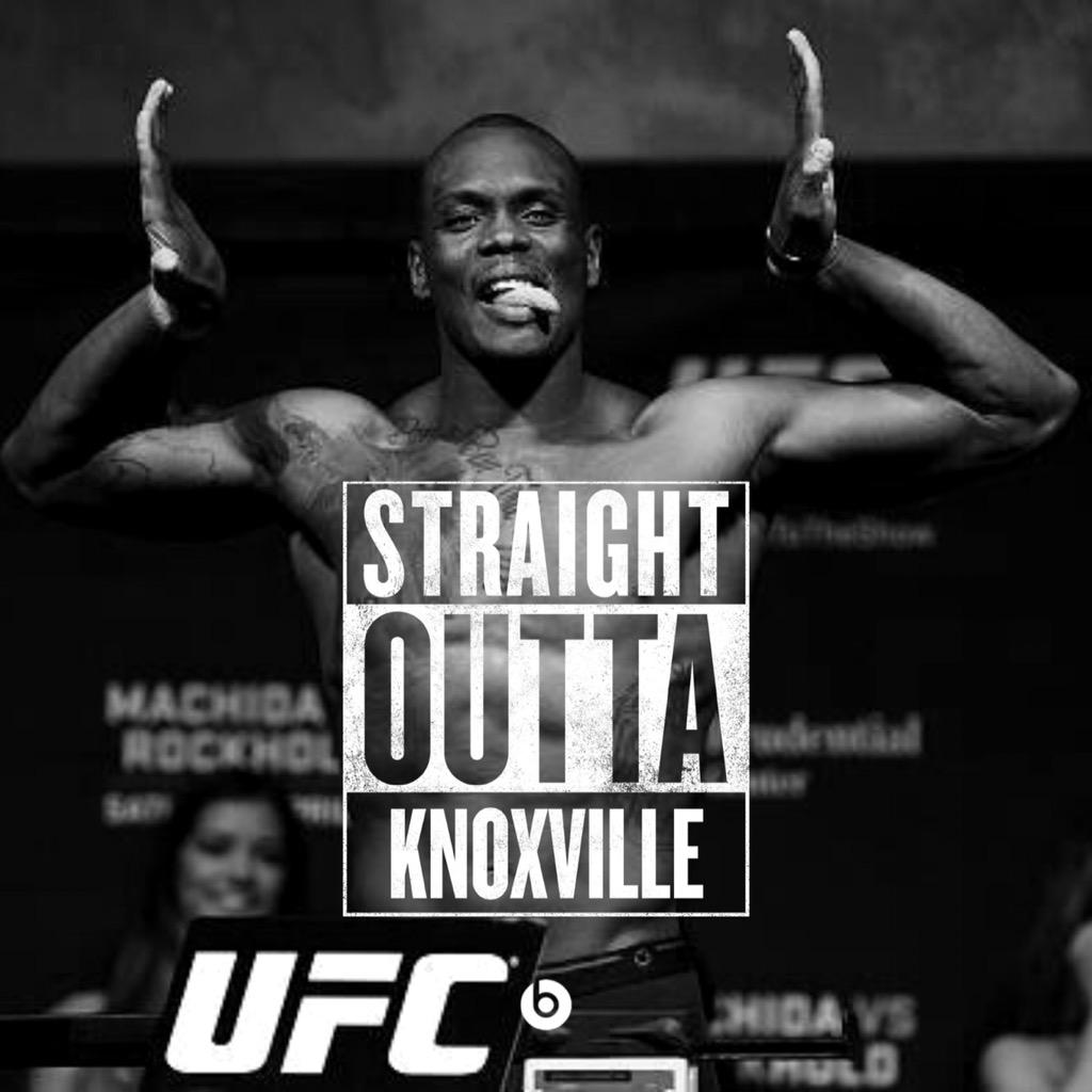Haitian descent. Florida born & raised. Knoxville trained. Bleeds orange & white. Fighting in Nashville tonight. http://t.co/G70kIsVq0X