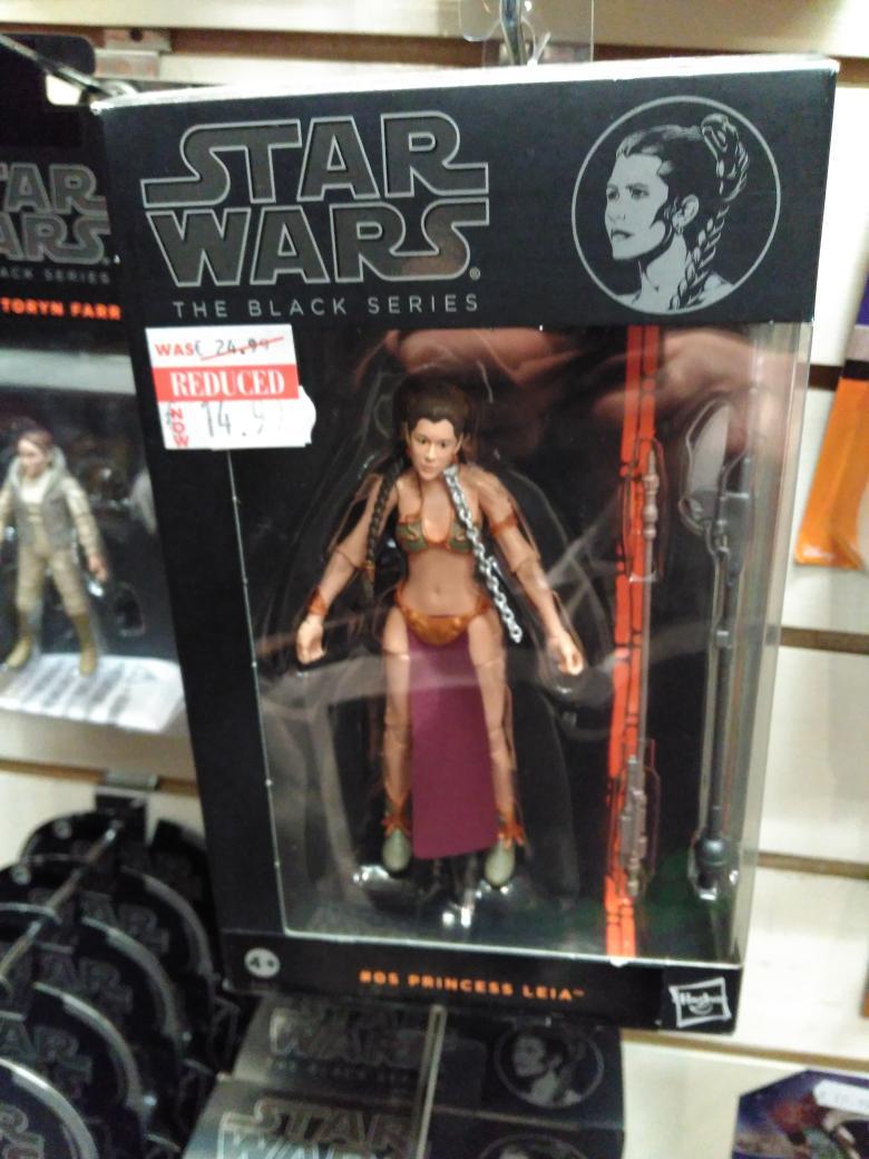 Slave Leia Black Series Figure