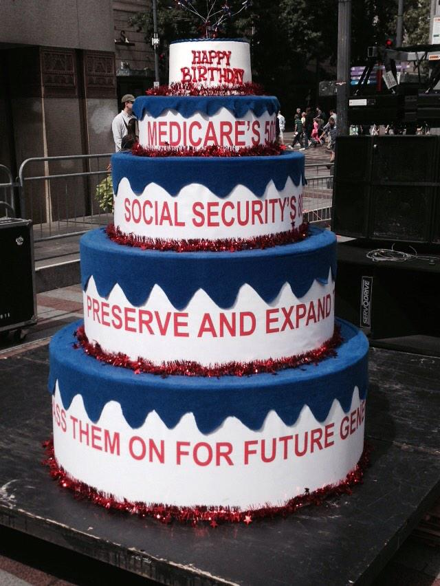 Rich Smith On Twitter Will Berniesanders Jump Out Of His Cake