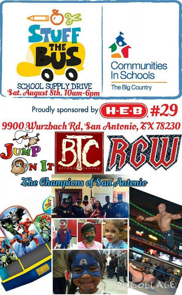 """RCW Wrestling on Twitter: """"Stop by H-E-B at Wurzbach and I-10 ..."""