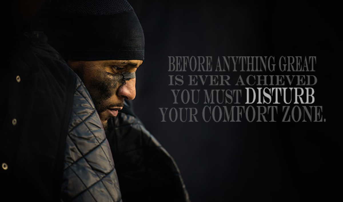 "Ray Lewis Quotes About Football: Ray Lewis On Twitter: ""DISTURB Your Comfort Zone"