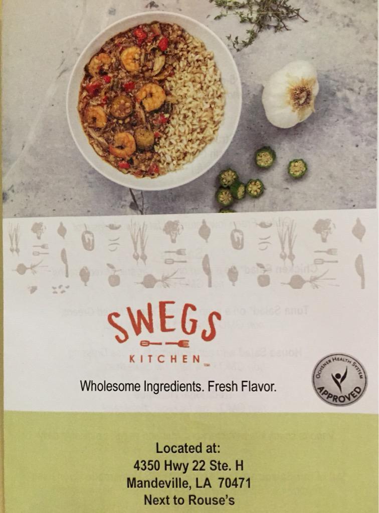 Alicia Maenza On Twitter Finally Culinary Meets Nutrition At Swegs Kitchen Come And Visit Us At 4350 Hwy 22 In Mandeville La Near Rouses Http T Co Lsvkreiusj