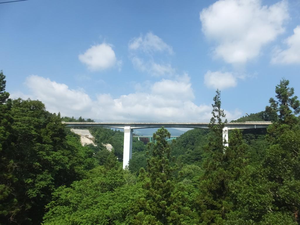 """道ろじん on Twitter: """"大田切川の深い谷を渡るラーメン構造の国道18号 ..."""