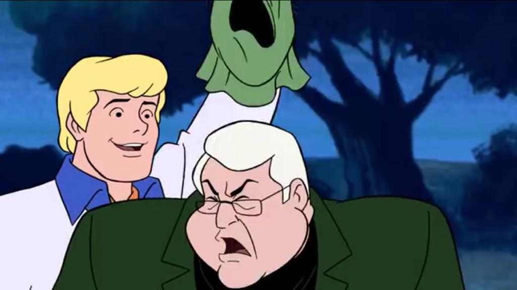 #Cartoons taught me if something evil is happening, it's probably an old white man trying to make money. #ScoobyDoo http://t.co/11IJKUTvlK