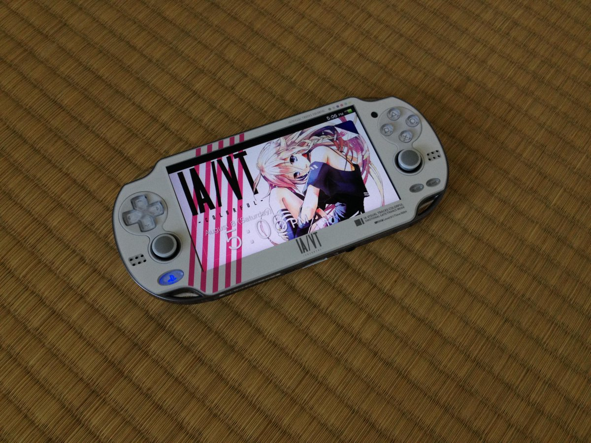 Kaladria Silverleaf The Playstation Vita Skin And Downloadable Wallpaper Which Came With The Ia Vt Colorful Crystal Box Ia Vt Pr Http T Co Nv0grq8m4s
