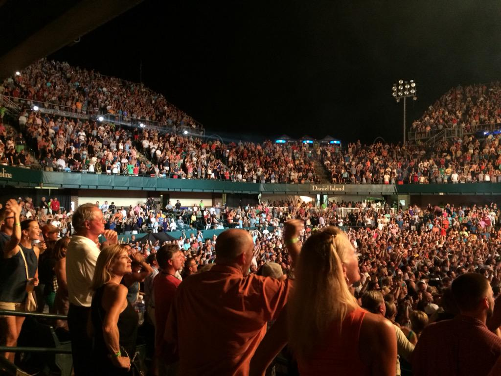 "volvo car stadium on twitter: ""full house tonight for @hootietweets"