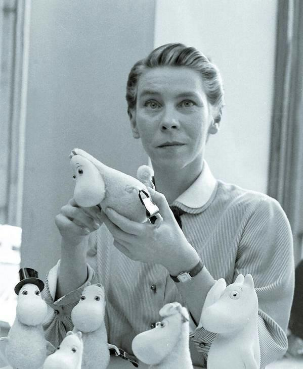 The wonderful Tove Jansson, artist, novelist and creator of the #Moomins, born 101 years ago today. http://t.co/613ozznH6W