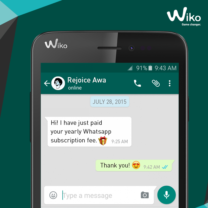 whatsapp wiko