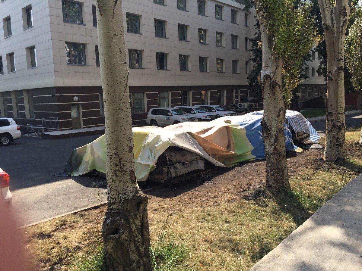 ОБСЕ о поджоге транспорта: Кто-то хочет, чтобы миссия перестала говорить о происходящем в Донецке - Цензор.НЕТ 670