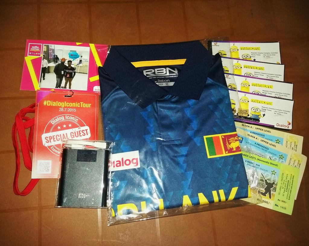 What I all got today from @dialoglk :D Thanks alot for the tour. Maybe Im the luckiest man today