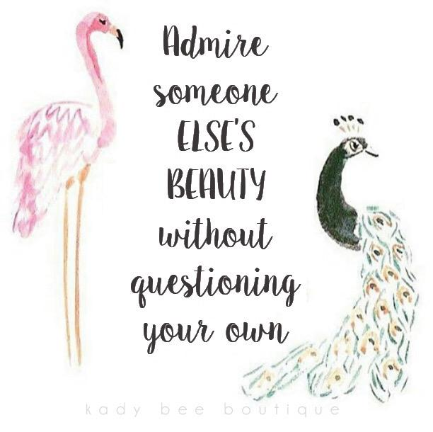 "Beauty Admiring Quotes: Kady Cannon Krambeer On Twitter: ""Admire Someone Else's"