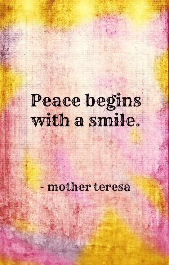 Short essay about peace