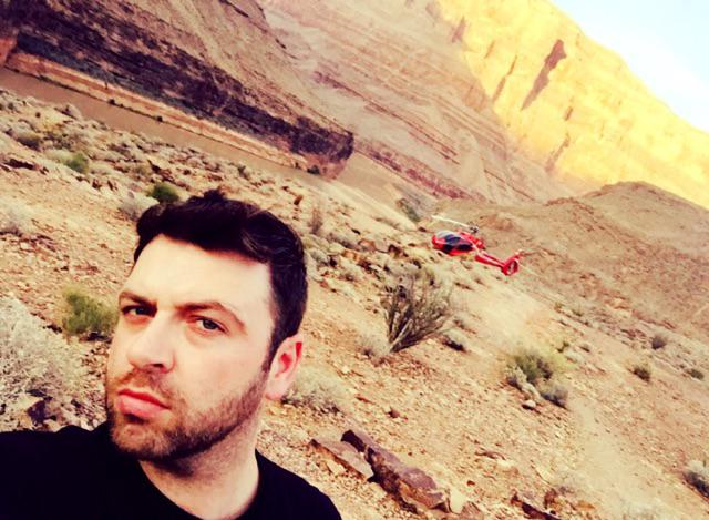 Throw back tuesday to June this year,to the time I had a picnic in the Grand Canyon ...here's me and my ride ;-p http://t.co/iqfsG7bWu8