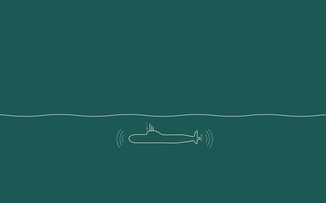 Minimal Wallpaper En Twitter Desktop Wallpaper Submarine