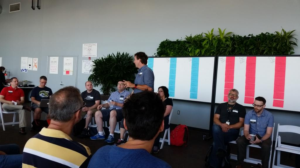 Kicking off #apicraft with @landlessness explaining the format #unconference http://t.co/nxvZvl7Lk2
