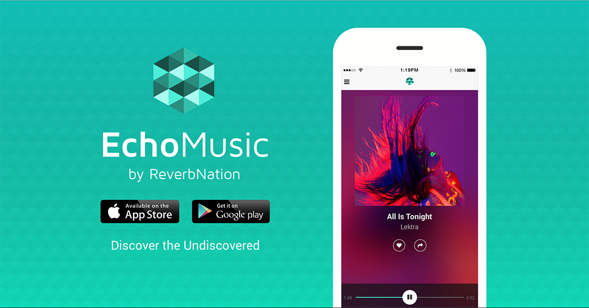 "Come ""discover the undiscovered"" with #EchoMusic by ReverbNation. Read more on @Forbes: http://t.co/7WCDphTCop http://t.co/P95tyaFj0I"