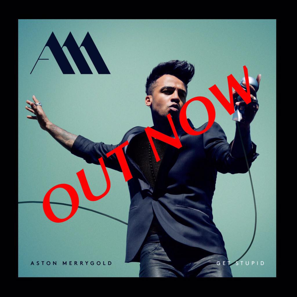 It's that time ! My boy @AstonMerrygold new single is OUT NOW! Grab your copy! #GetStupid - love the track babe !❤️ http://t.co/jp8ZCLKJrg