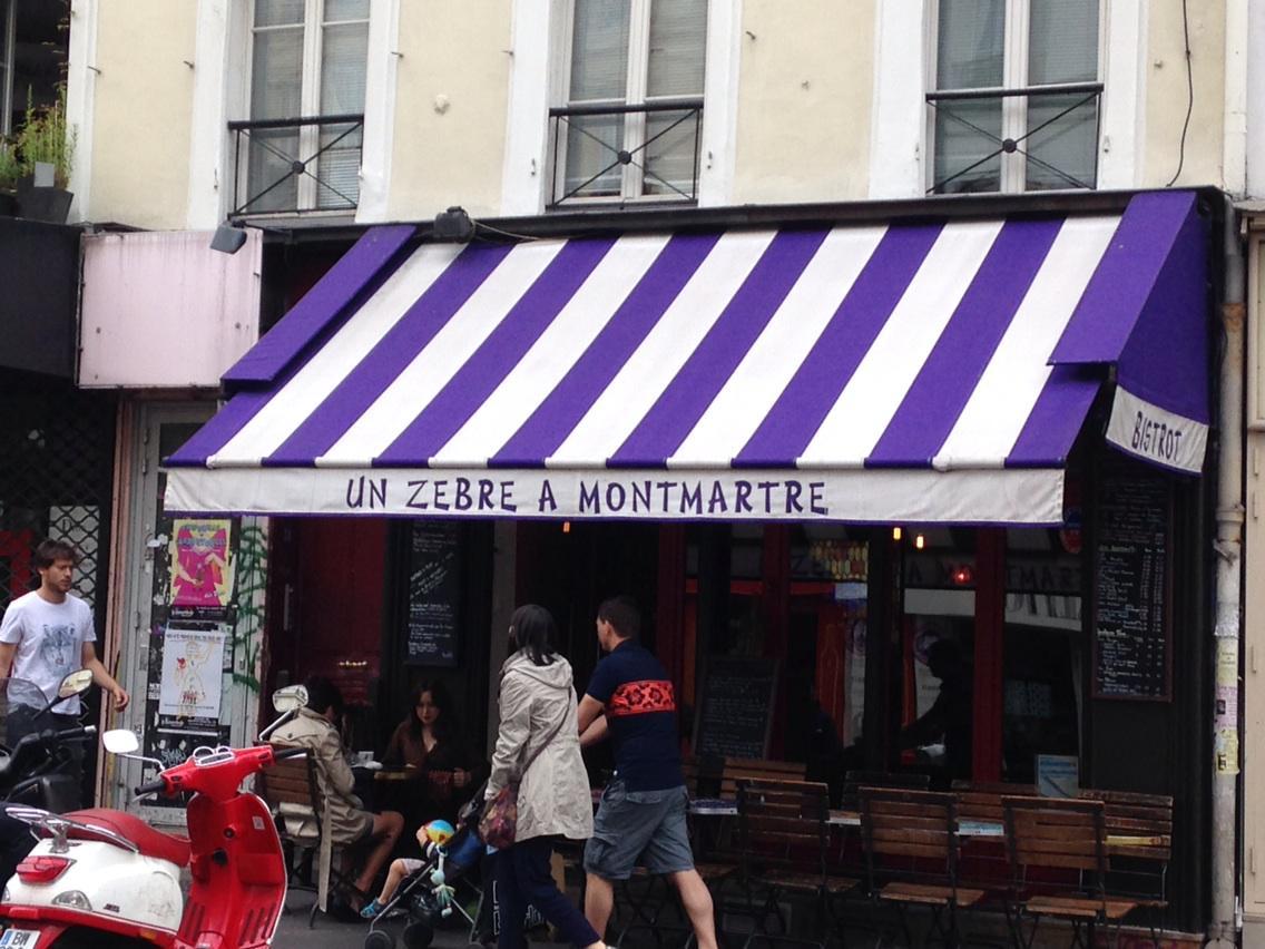 Zèbre270157 aurait... Un bistrot à Montmartre CLAnoH7WcAA8WvC