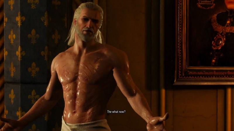 Needlessly sexualized male movie characters
