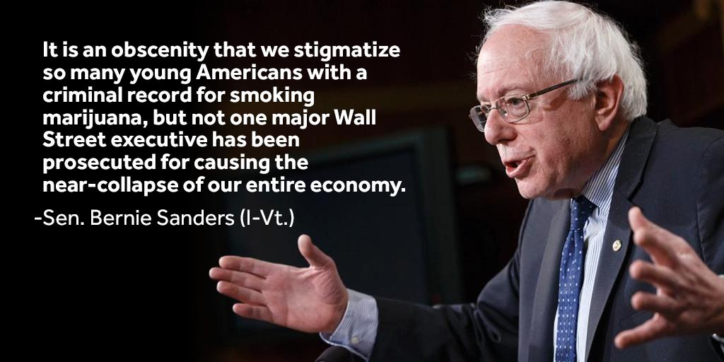 Bernie Sanders On Twitter It Is An Obscenity That We