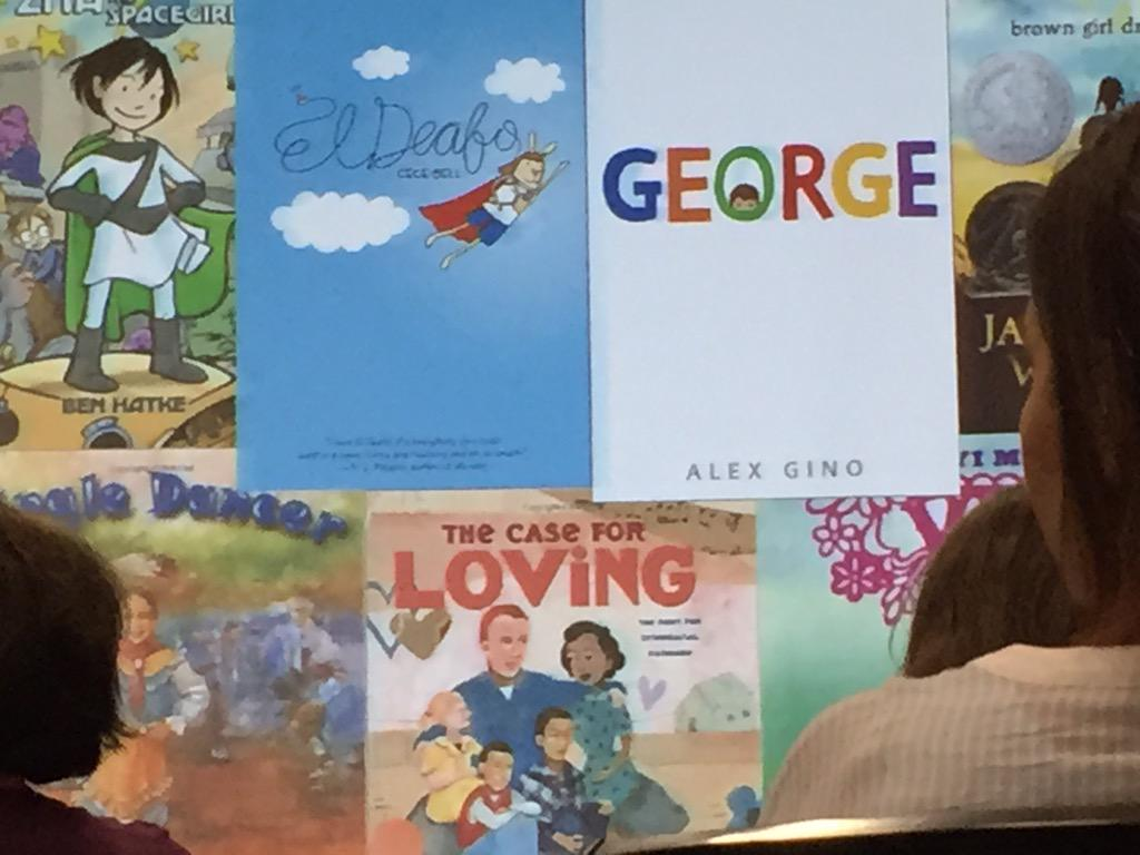 Classroom libraries must be diverse to personalize the reading experience. #ReadingSummit @nselib  @KateMessner http://t.co/h4PF9IdYmt