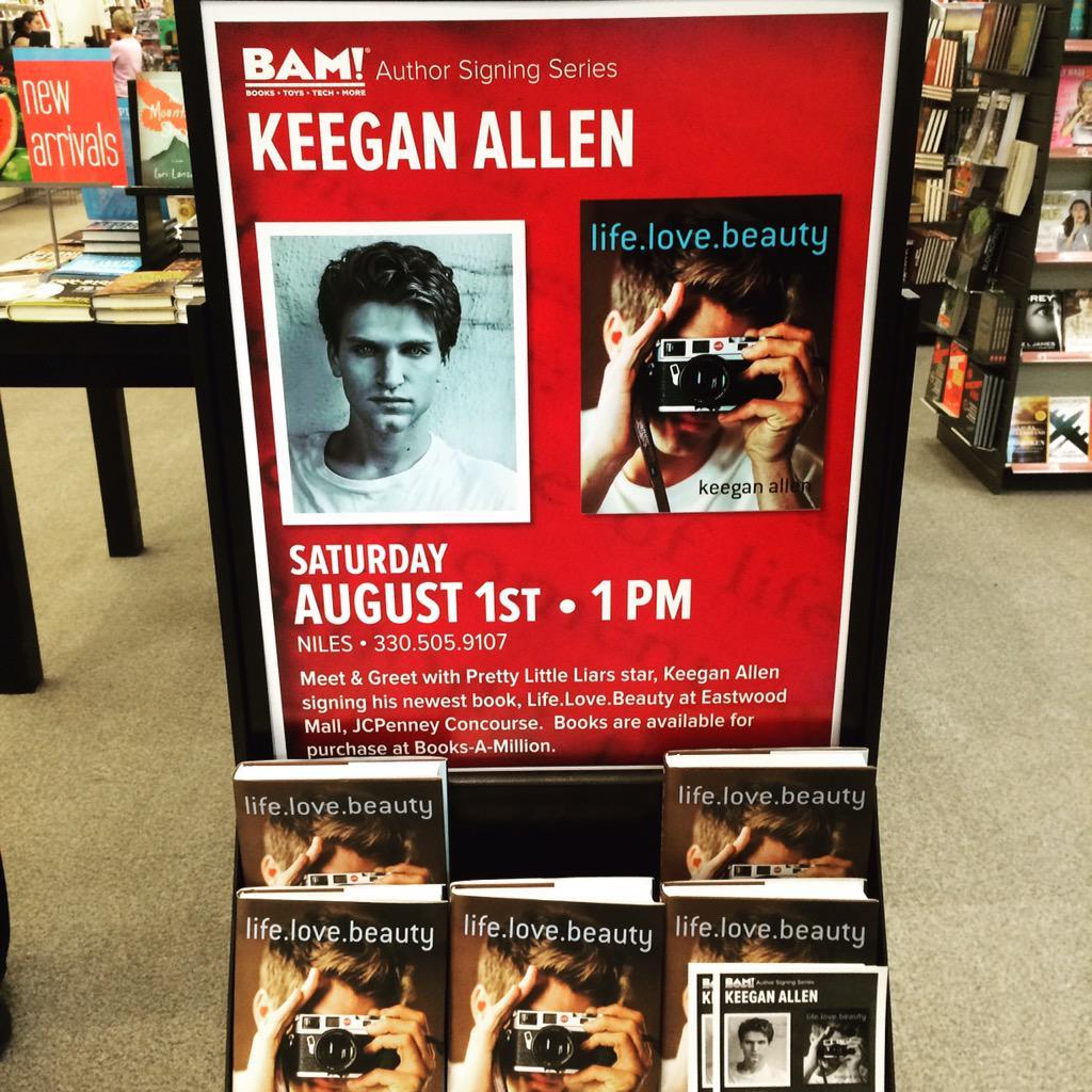 Eastwood mall on twitter stop by bam to purchase keegan allens can twait keeganallen meetandgreetpicittert0tvyv4g3g m4hsunfo