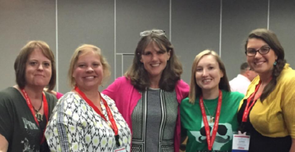 Thanks@KateMessner for sharing yourself w/us today! Can't wait to share you/your books w/ our kiddos! #ReadingSummit http://t.co/Z3tnIHsMHz