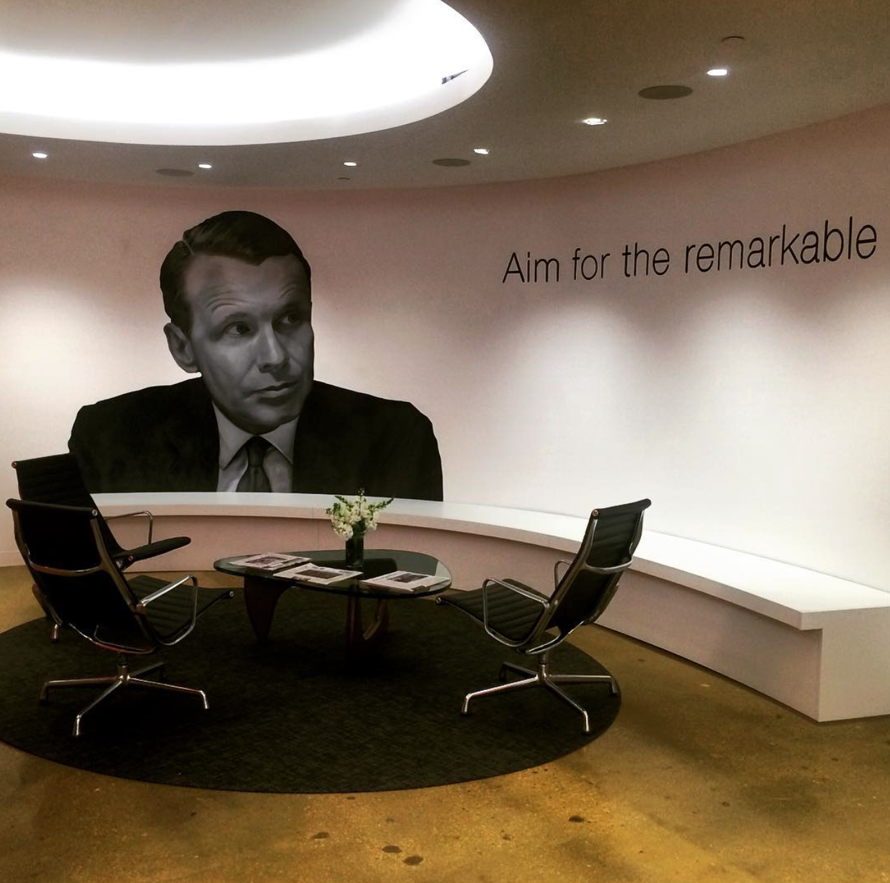 Aim for the remarkable. #TravelTuesday to the new and improved, Washington DC office http://t.co/uYBUFlsOx2