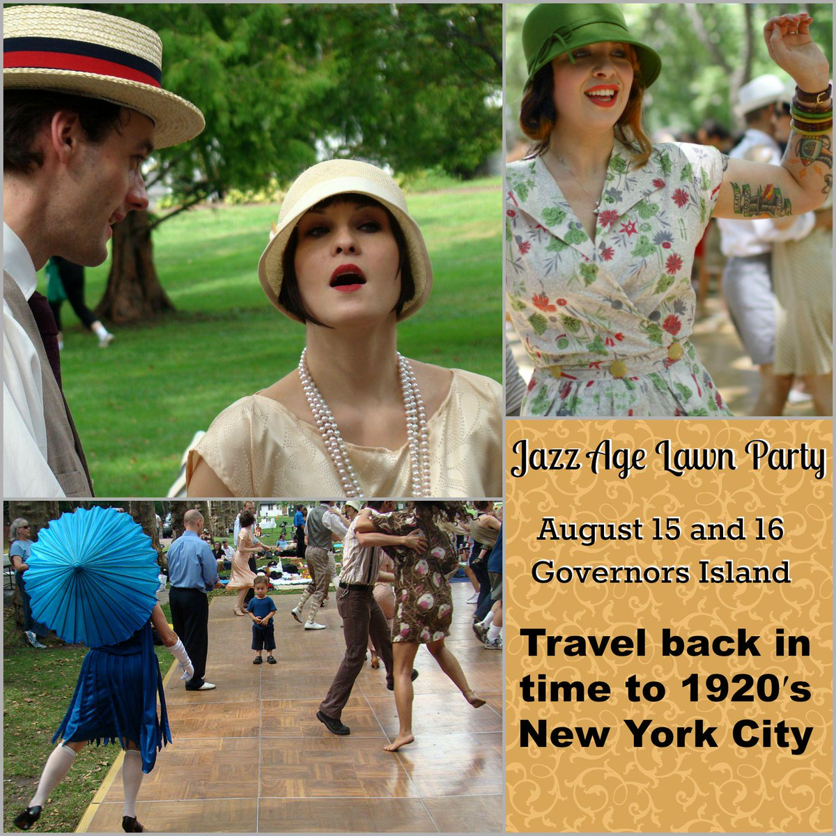 The Jazz Age Lawn Party @jazzagenyc is Aug 15 & 16 at Governors Island! http://t.co/VSjikGjfuy #JazzAgeLawnParty #NYC http://t.co/sll574jetm