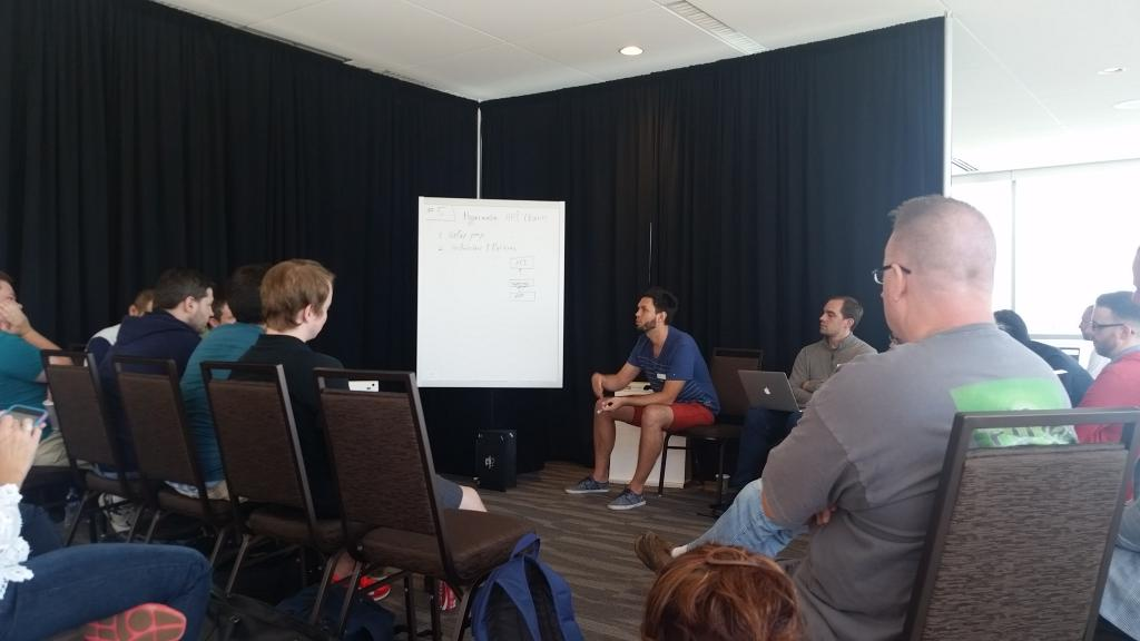 What would an API conference be without a dive into #hypermedia? Good disc about client-side development #apicraft http://t.co/0ao7dKxc5K