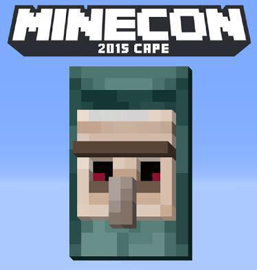 how to get a cape in minecon