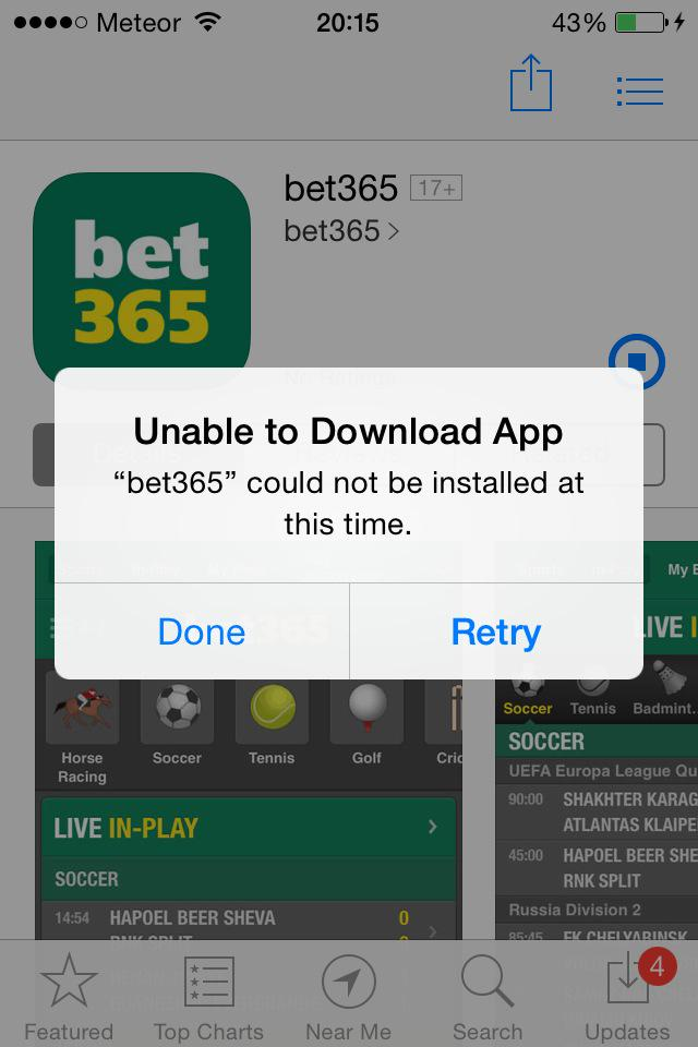 working at bet365