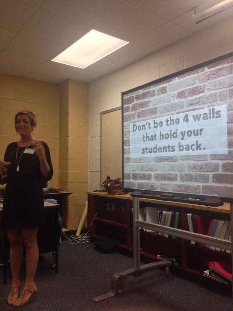 Don't limit their learning. Don't feed the fears. @MrsDelz #cfisddlc http://t.co/fT6Oc9x8ki