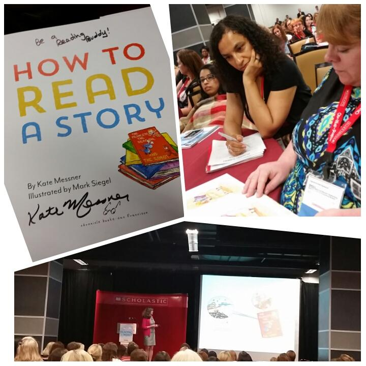 A Read Aloud with @KateMessner  A priceless moment! BE  A READING BUDDY! #readingsummit http://t.co/sLcre0BxYK
