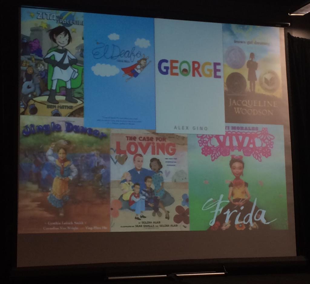 Kids need mirrors in books to see themselves, but they also need windows to see others. @KateMessner #ReadingSummit http://t.co/bmVyVoVtiT