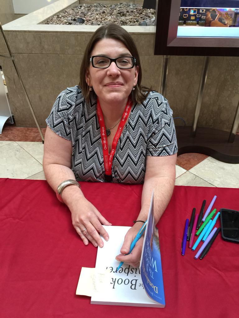 """Got my book signed by Donalyn Miller """"The Book Whisperer""""#ReadingSummit http://t.co/QvsHRncd0n"""