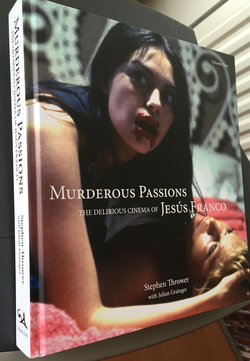 Ad Kleingeld On Twitter Still Immersed In Murderous Passions The Delirious Cinema Of Jesus Franco Part 1 By Stephen Thrower Strangepress Http T Co 4vtd82ttef