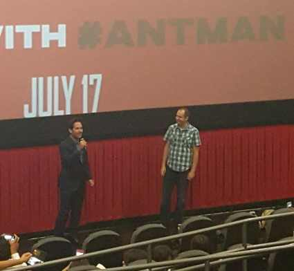 Hear what #PaulRudd shared about his role during @ANTMAN NYC Screening #AntMan (Video) ~ https://t.co/XVZsbOupJp http://t.co/AgSaFM9DDS