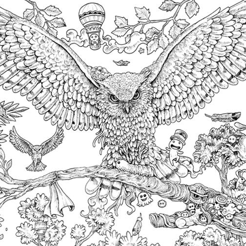 Hardie grant books on twitter the incredible animorphia for Imagimorphia coloring pages