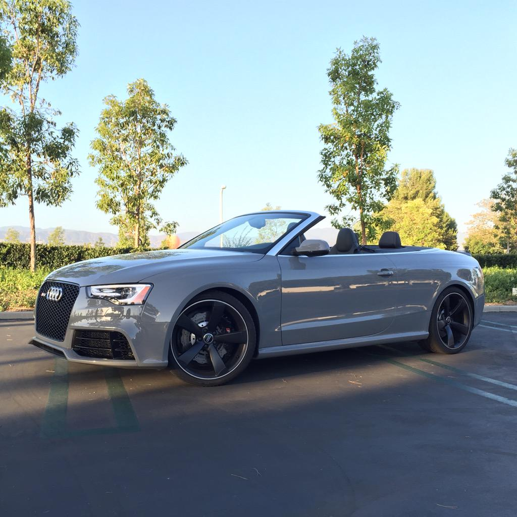 "Micah Muzio On Twitter: ""Test Car Du Jour. Audi RS5"