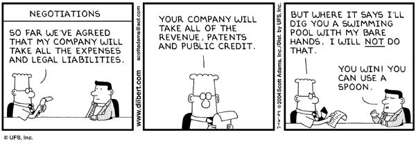 "#Negotiation Techniques from @HarvardBiz #Procurement #Dilbert  https://t.co/qbbZclcZrX"" https://t.co/byky0YleVC"