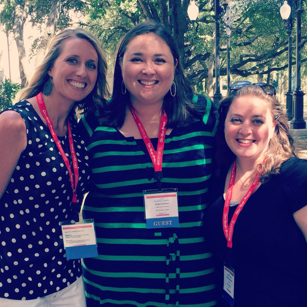 Inspired at @Scholastic #ReadingSummit, our @ElsaEngRRISD Team is excited to promote student voice & choice this year http://t.co/mxOz5J3R57
