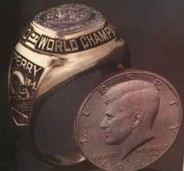 William Refrigerator Perry Ring Size