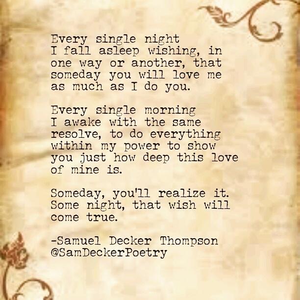 Samuel Decker Thompson On Twitter Every Single Night I Fall Asleep